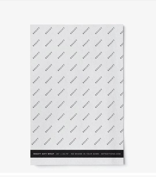 set editions SEE WPWS - ReGift Wrap Sheet