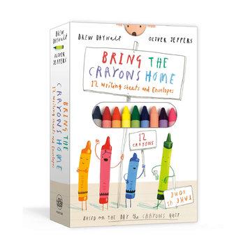 Penguin Random House - PRH Bring the Crayons Home Writing Sheets & Envelopes