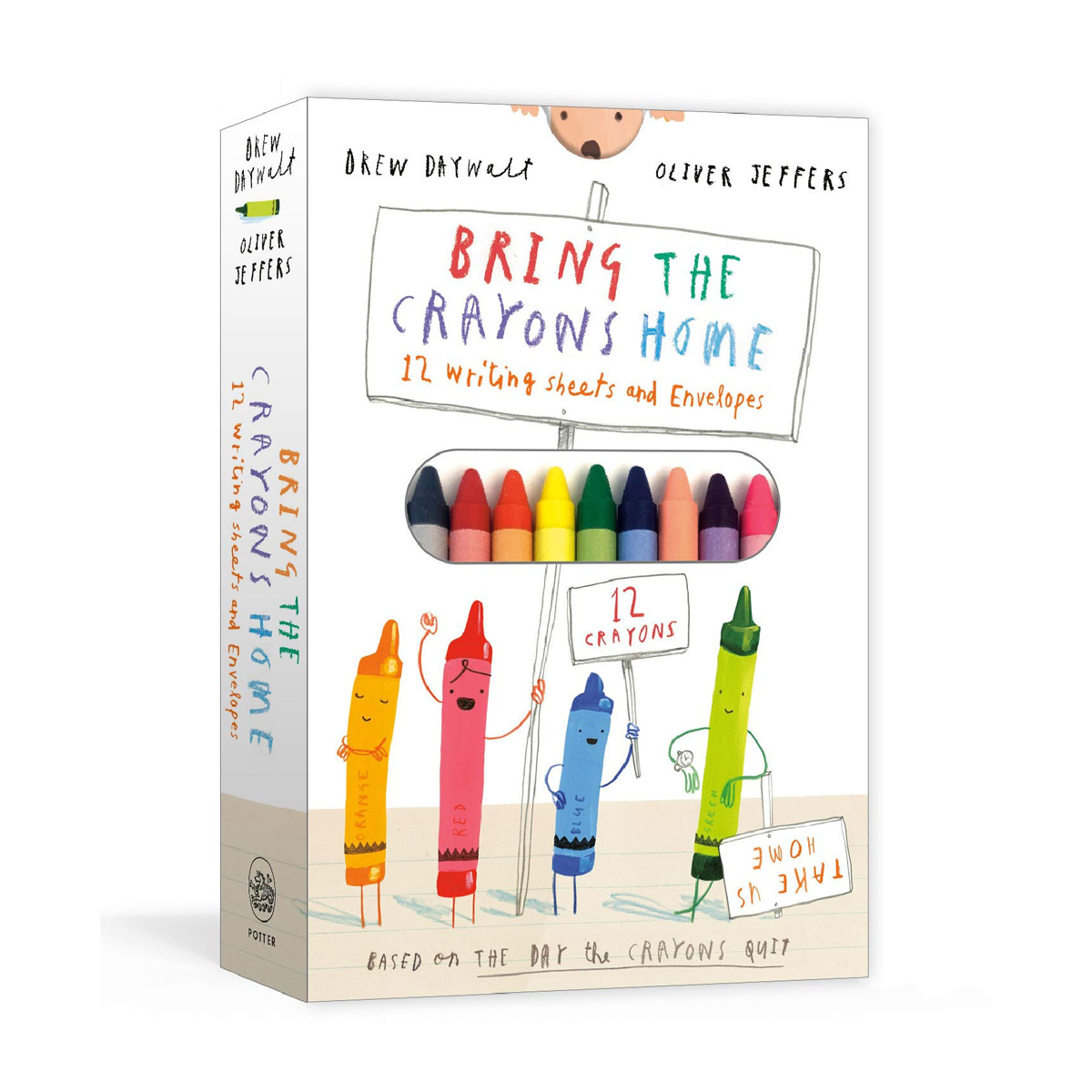 Penguin Random House - PRH Bring the Crayons Home Writing Sheets & Envelopes