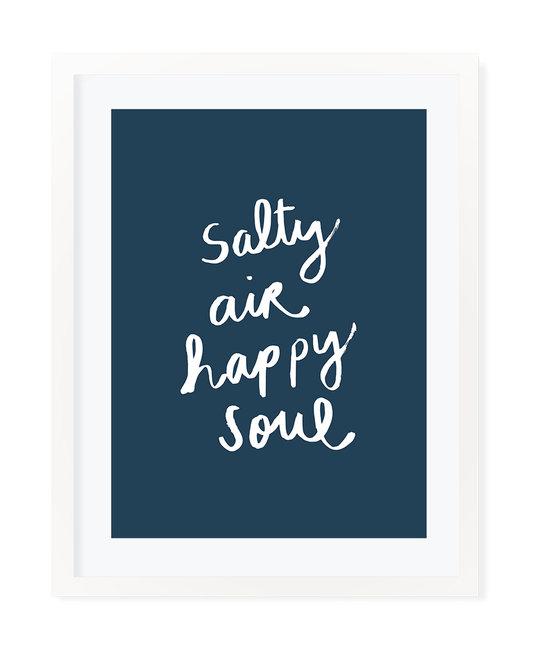 "Evergreen Summer - ES Linus ""Salty Air Happy Soul"" Art Print 16"" x 20"""