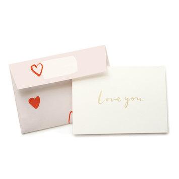 Our Heiday Love You Card