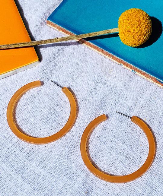 Casa Clara - CAC Peach Sand Mia Earrings