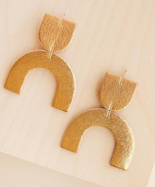 Dear Survivor - DS Dear Survivor - Gold Cozumel Earrings