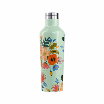 Corkcicle Corkcicle x Rifle Paper Co - Mint Lively Floral Canteen