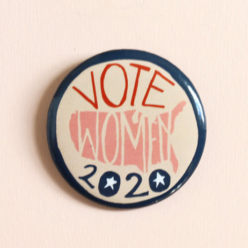 Hemlock Goods HG AC - Votes for Women USA Button