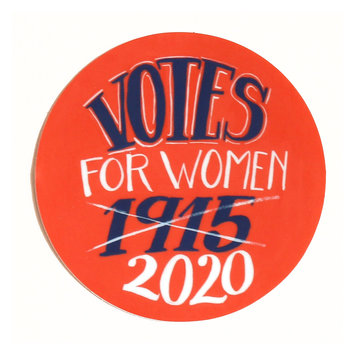 Hemlock Goods HG ST - Votes for Women Sticker