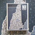 Brainstorm Print and Design New Hampshire State 500 Piece Puzzle