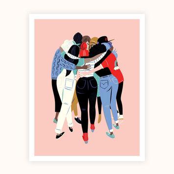 Libby Vander Ploeg Huddle Print 11 x 14