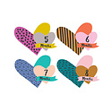 Lucy Darling Little Heartbreaker Milestone Cutout Stickers, 1-12