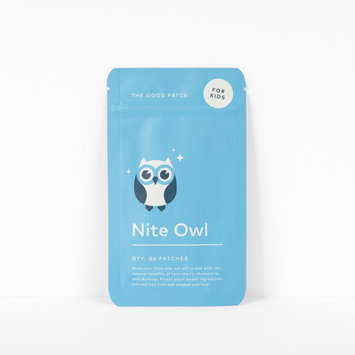 The Good Patch Night Owl Patch for Kids (Plant Based)