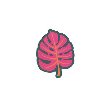 Idlewild Co - ID Monstera Die-Cut Sticker