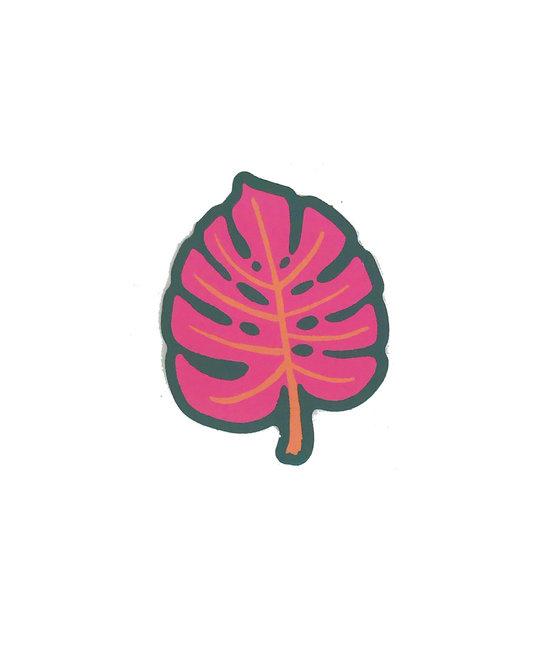 Idlewild Co - ID Monstera Die-Cut Sticker