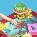 Piecework Puzzles Tutti-Frutti 500-Piece Puzzle