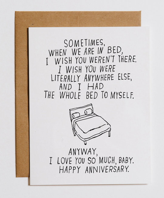Mountian Versus Plains Bed to Myself,  Anniversary