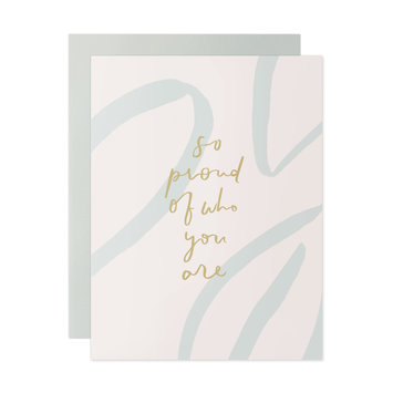 Our Heiday - OH So Proud Of Who You Are Card