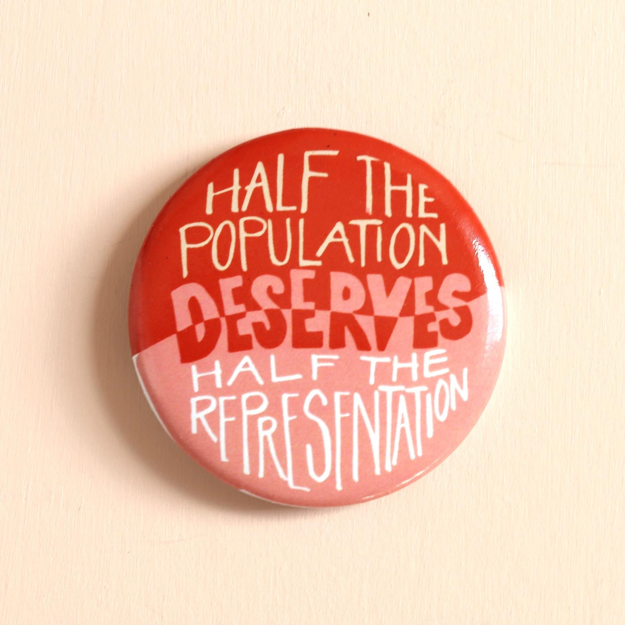 Hemlock Goods - HG Votes for Women Representation Button