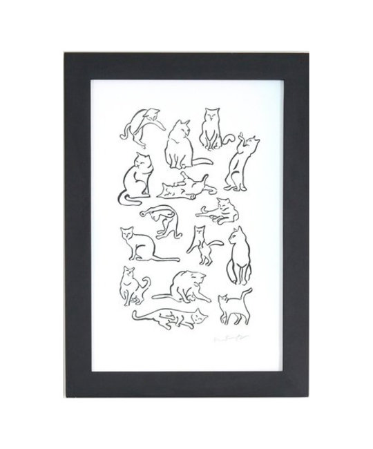 and Here We Are - AHW Cattern Large Print, 12 x 18 inch
