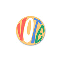 """Gus and Ruby Letterpress - GR Gus & Ruby - VOTE 3"""" sticker"""