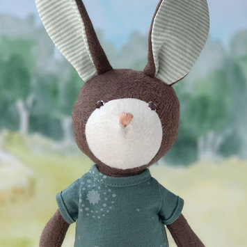Hazel Village - HV Lucas Rabbit in Adventure Romper