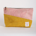 IMMODEST COTTON x Fleabags Bicolor Sardine Pouch, Fig