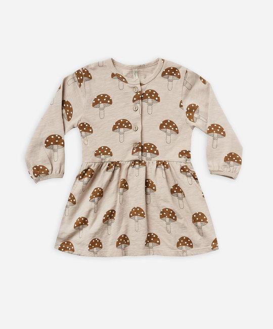 Rylee + Cru - RC Rylee + Cru - Mushroom Button Up Dress