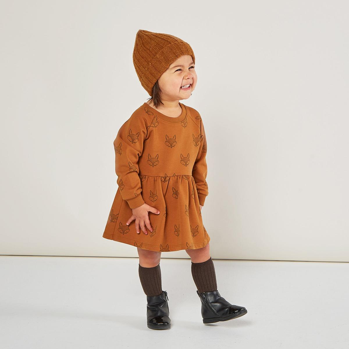 Rylee + Cru - RC Rylee + Cru - Fox Raglan Dress