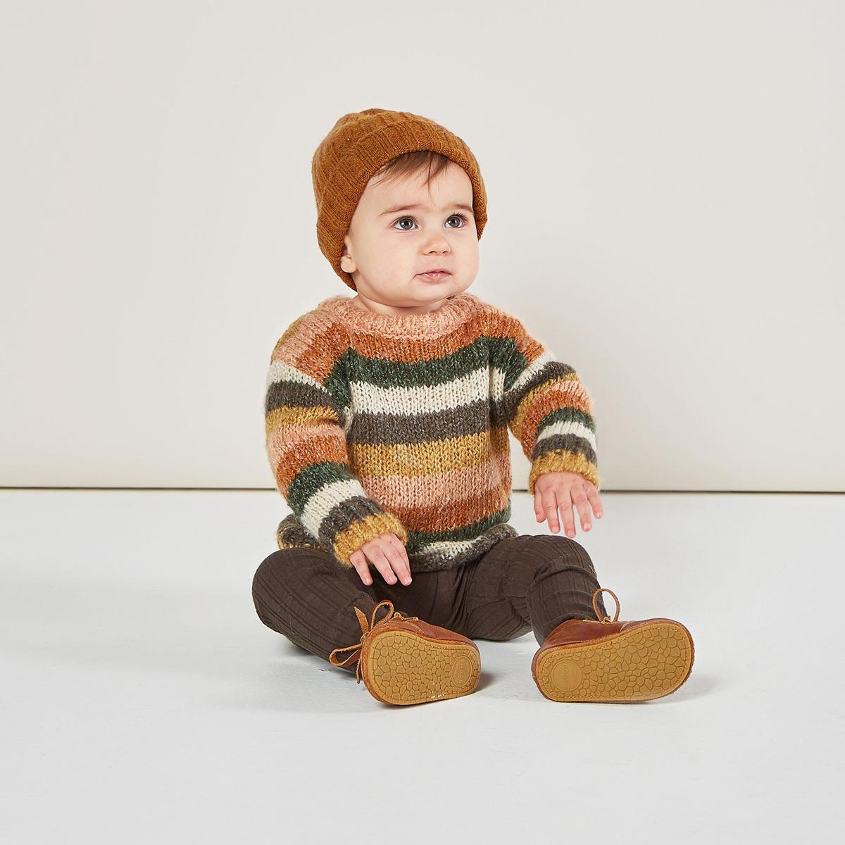 Rylee + Cru - RC Rylee + Cru - Multi-Stripe Aspen Sweater