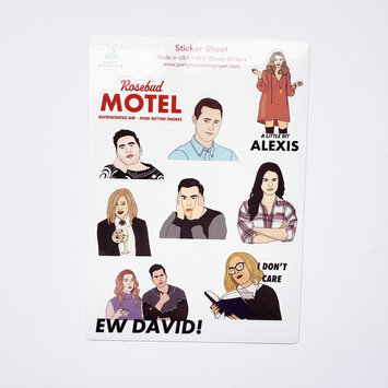 Party Mountain - PM Schitt's Creek Sticker Sheet