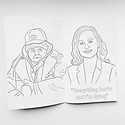 Party Mountain - PM Parks and Rec Coloring Book