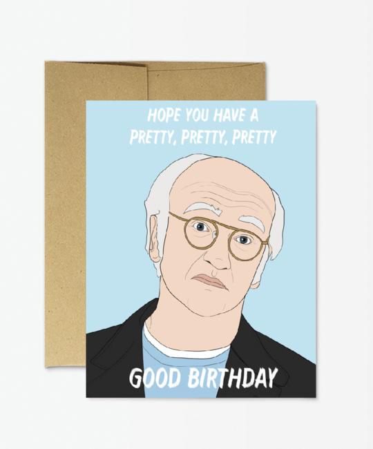 Party Mountain - PM Pretty Good Birthday Card