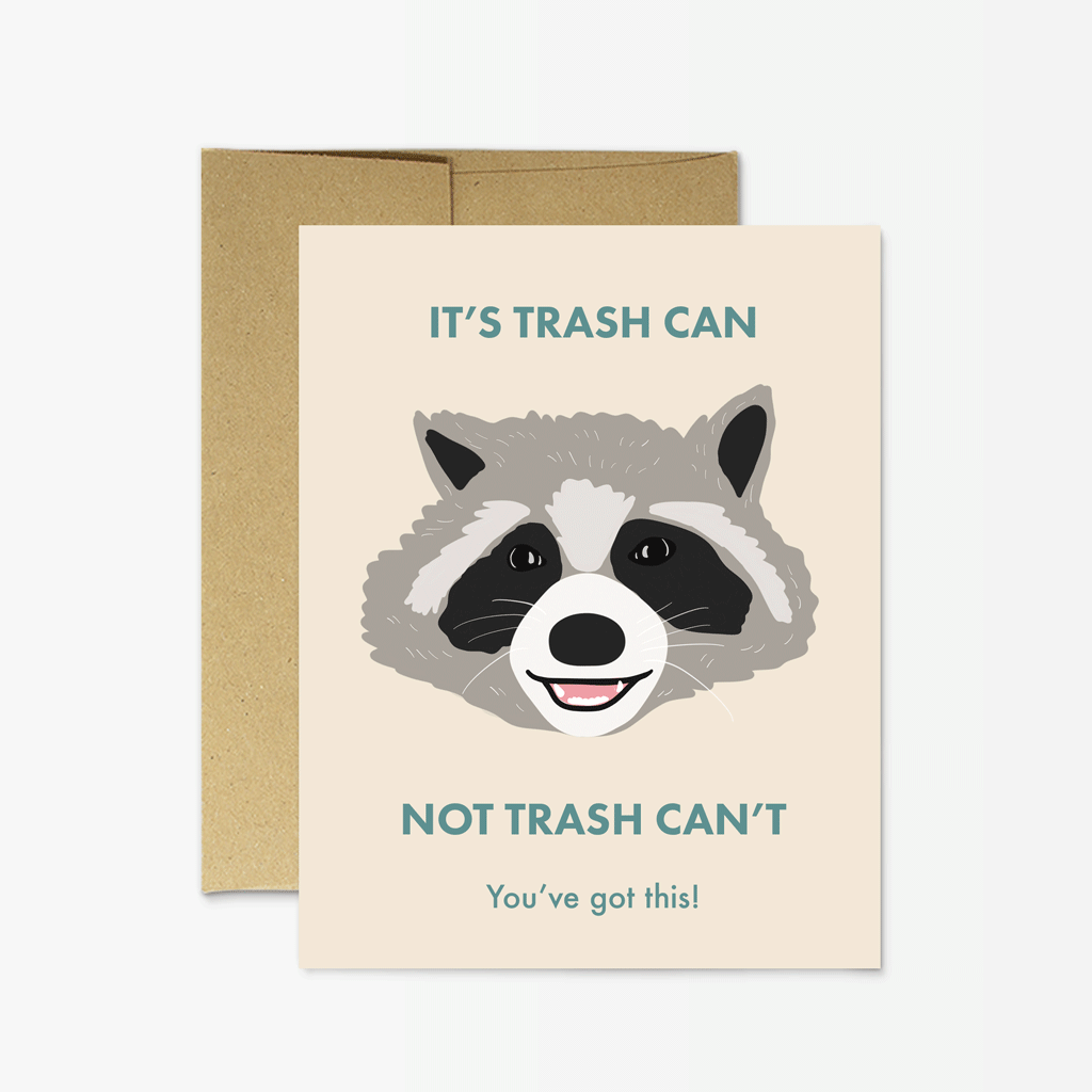 Party Mountain - PM Raccoon Trash Can
