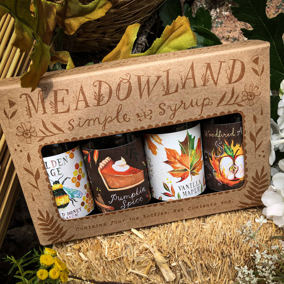Meadowland - MEA Autumn Sun Simple Syrup Collection