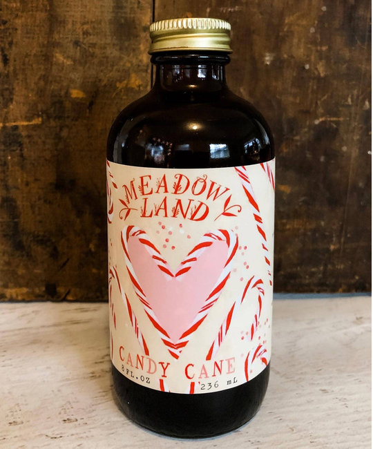 Meadowland - MEA Candy Cane Simple Syrup