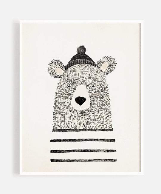 "Rylee + Cru - RC Rylee + Cru - Winter Bear 8x10"" Art Print"