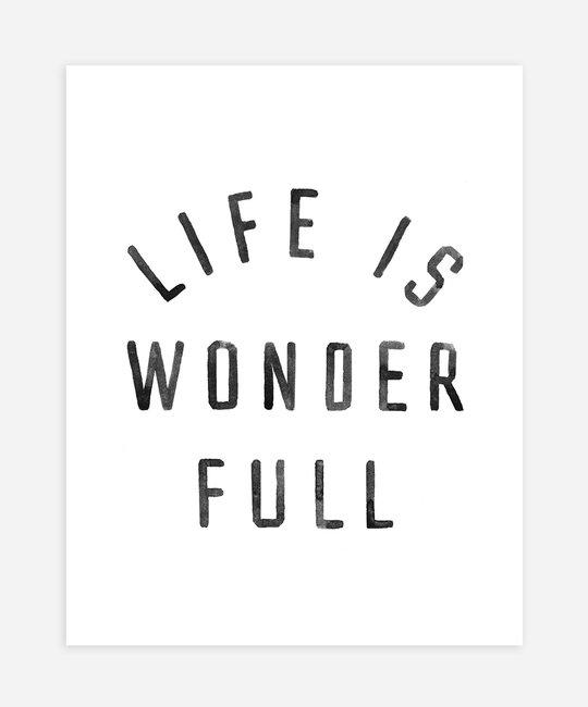 Rylee + Cru - RC Rylee + Cru  - Life is Wonder Full Art Print