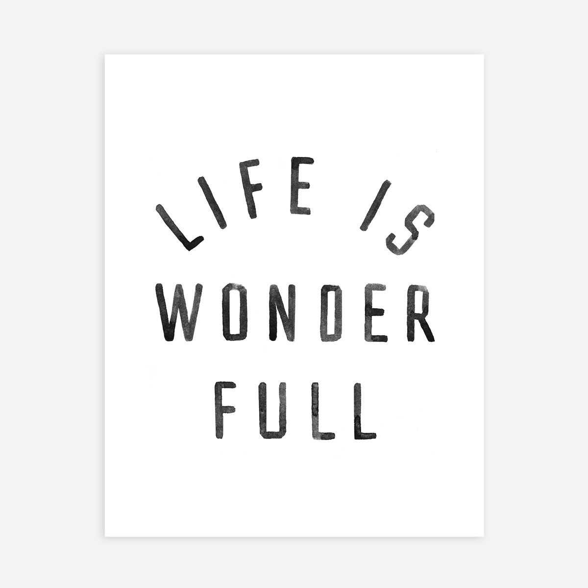 Rylee + Cru - RC Rylee + Cru  - Life is Wonder Full Art Print
