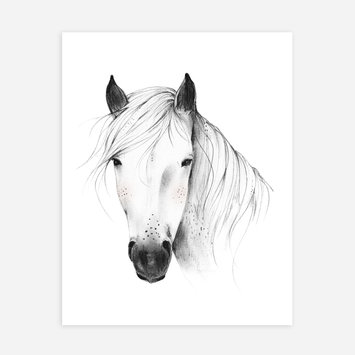 "Rylee + Cru - RC Rylee + Cru - Wild Horse 8x10"" Art Print"