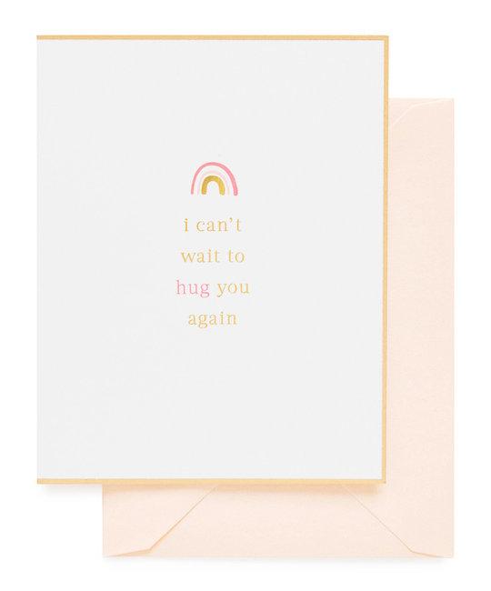 Sugar Paper - SUG I Can't Wait to Hug You Again Card
