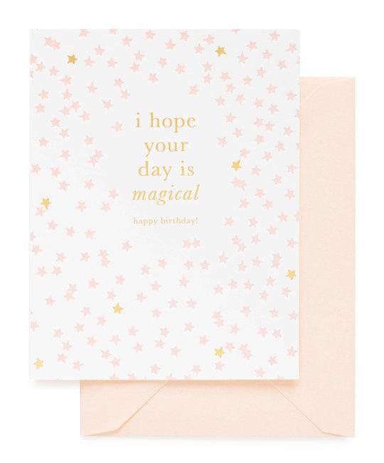 Sugar Paper - SUG Magical Happy Birthday Card