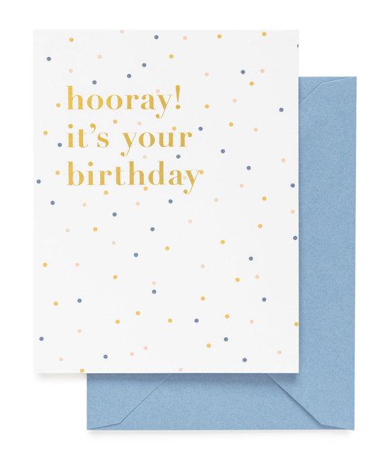 Sugar Paper - SUG Hooray! It's your Birthday Card