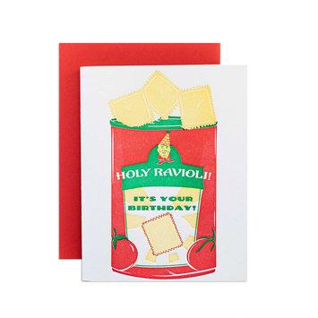 Riva Letterpress - RIL Holy Ravioli Birthday
