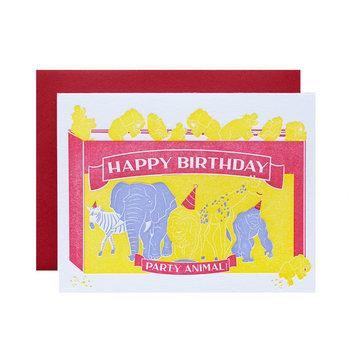 Riva Letterpress - RIL Party Animal Birthday