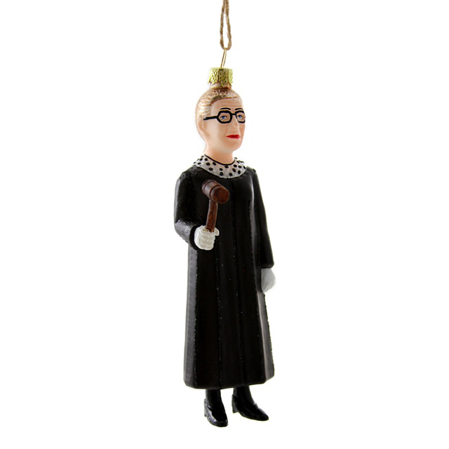 Cody Foster Ruth Bader Ginsburg Standing Ornament