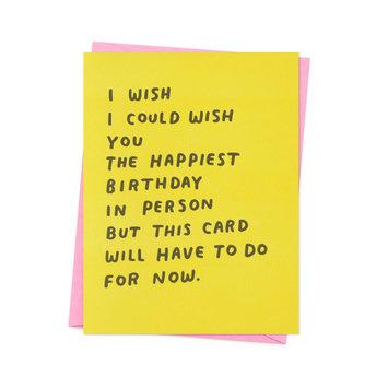 Ashkahn - AS I Wish Happiest Card