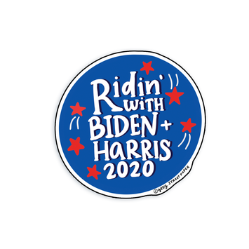 Grey Street Paper - GRSP Ridin' with Biden Sticker