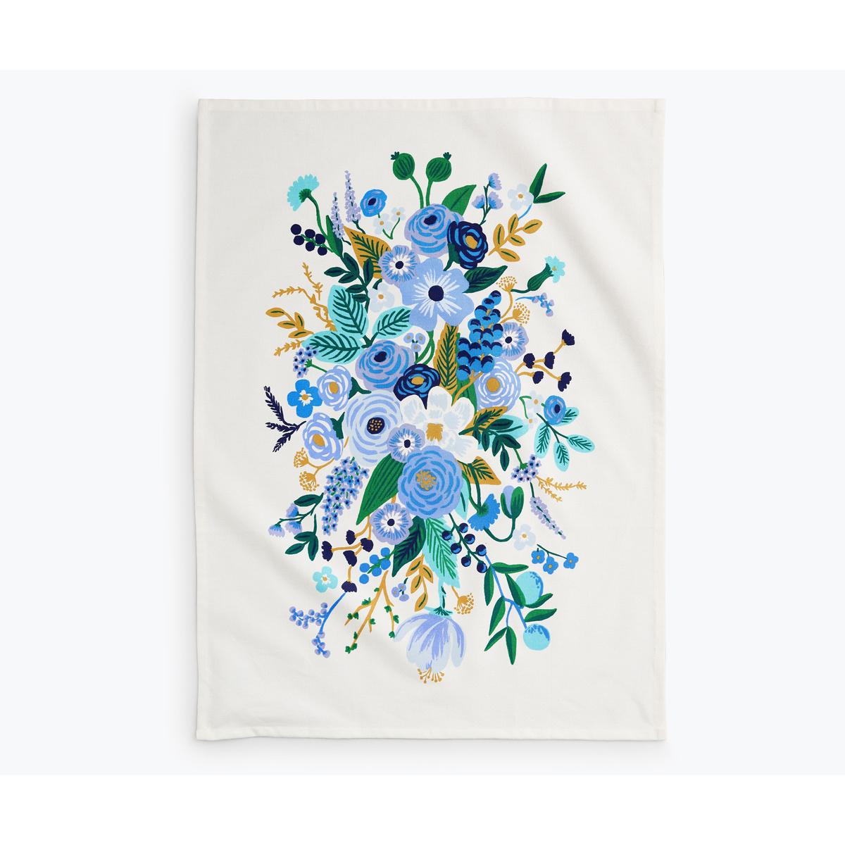 Rifle Paper Co - RP Rifle Paper Co - Garden Party Blue Tea Towel