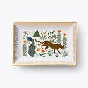 Rifle Paper Co - RP Rifle Paper Co - Menagerie Botanical Catchall Tray