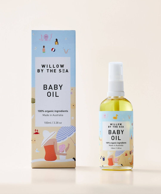 Willow by the Sea - WBS Willow by the Sea - Organic Baby Oil