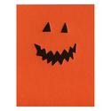 ink meets paper Jack O'Lantern greeting card