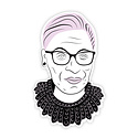 Boss Dotty Ruth Bader Ginsburg RBG Head Sticker